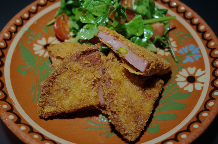 "R0055751_Deep fried Mortadella in ""hamkatsu"" style"