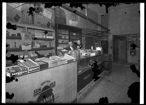 Candy and cigar counter