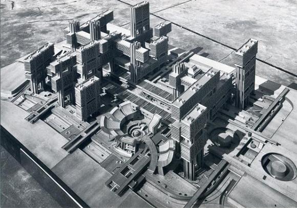 築地再開発計画CG
