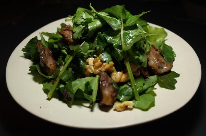 R0055398_Salade de cofits de gesiers et herbesaromatiques
