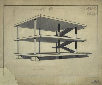 Charles-Édouard_Jeanneret_(Le_Corbusier) _1914-15 _Maison_Dom-Ino