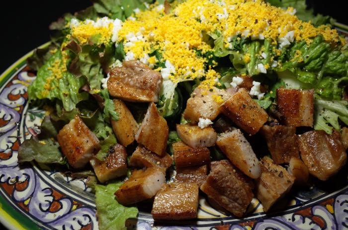 R0055588_Salade mimoza avec bacon fait maison