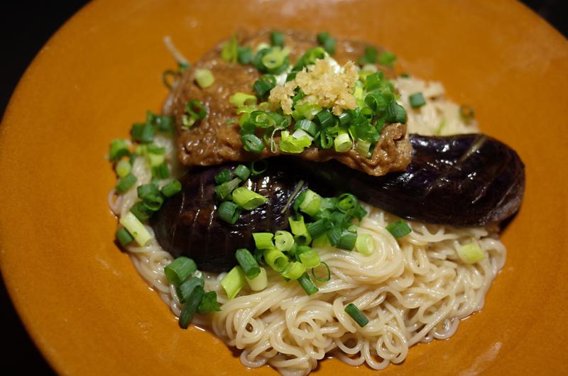 R0057055_Eggplant somen in kagawa style