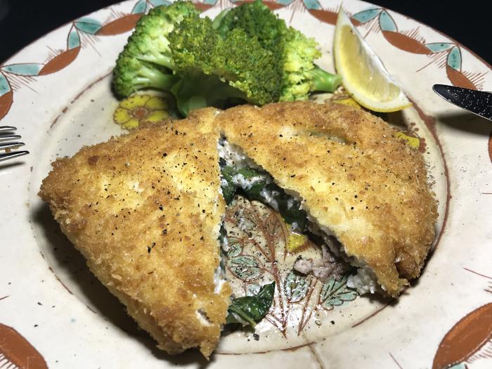 IMG_3950_Cotoletta di pesce spada al portafoglio